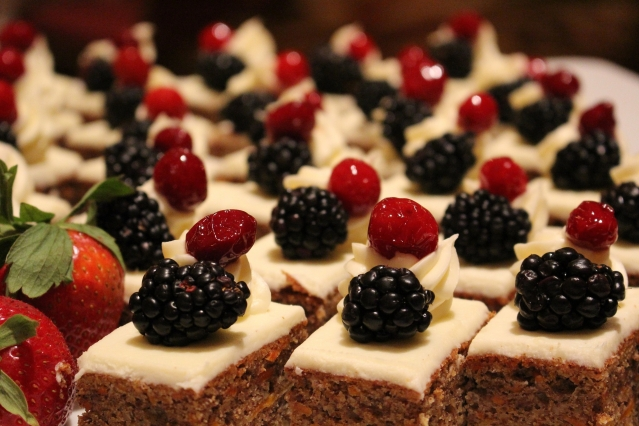 world cake day berry cakes