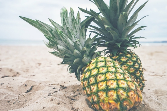 smoothie recipes pineapples on the beach
