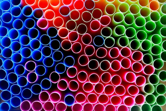 cystic fibrosis breathing through colourful straws
